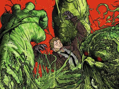 Justice League Dark Constantine Swamp Thing HD Wall Poster Paper Print