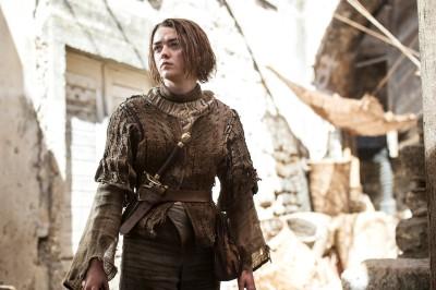 Wall Poster TVShow Game Of Thrones Maisie Williams Arya Stark Paper Print