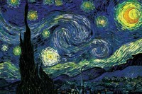 Starry Night by Vincent van Gogh Fine Art Print(12 inch X 18 inch, Rolled) best price on Flipkart @ Rs. 249