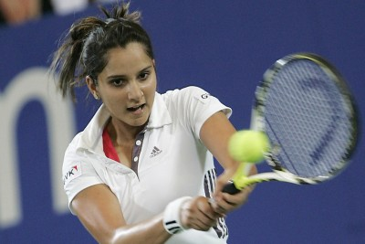 Sanina Mirza - Tennis star Poster Paper Print
