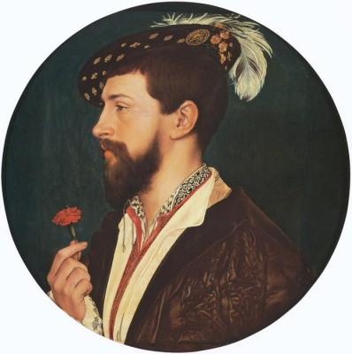 The Museum Outlet Portrait of Simon George. c.1533 (Medium) Canvas Painting