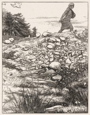 The Museum Outlet The Sower, published1864 (Medium) Canvas Painting