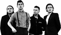 Music Arctic Monkeys Band (Music) United Kingdom Rock Band English Wall Poster Paper Print(12 inch X 18 inch, Rolled)