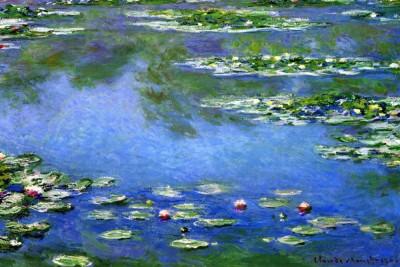 Water Lilies by Monet Print Paper Print