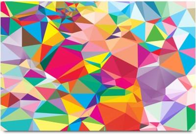 Colorful 3D Sharp Random Pattern Paper Print
