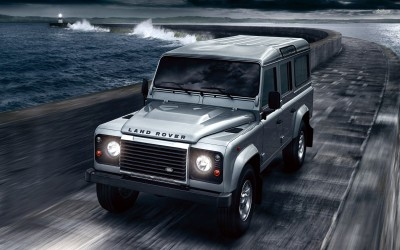 Athah 2007 Land Rover Defender Poster Paper Print