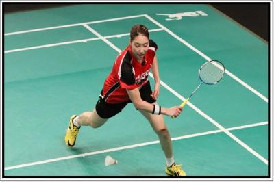 Sung-Ji Hyun Badminton Player Poster Paper Print