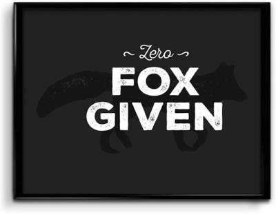 Zero Fox Given Canvas Art