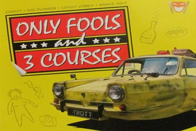 Only Fools And Three Courses Paper Print