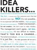 Idea Killers Paper Print (18 inch X 12 i...