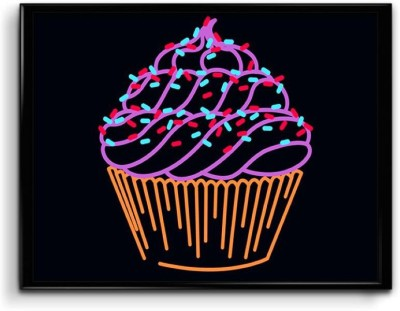 Cupcakes are Little Happiness Canvas Art