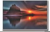 Posterhouzz Sand hill during sunset Fine...