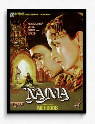 Seven Rays Najma Film Framed (Small)