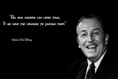 Walter Disney All Our Dreams Premium Poster Paper Print