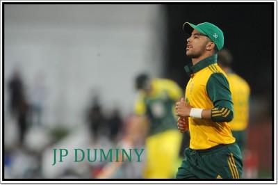 JP Duminy Cricketer Poster Paper Print