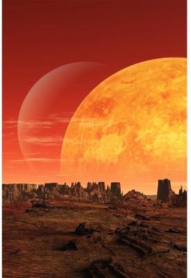 Alien Planet Premium Poster Paper Print