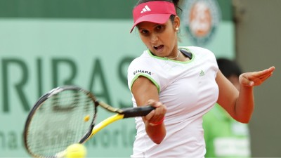 Sports Sania Mirza Tennis HD Wall Poster Paper Print