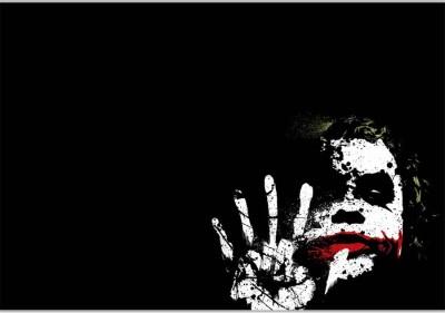Joker Poster (18 x 12 Inches) by Shopkeeda Paper Print
