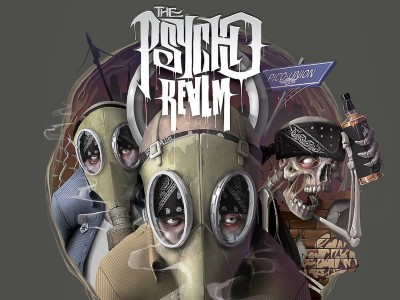Music Psycho Realm Wall Poster Paper Print