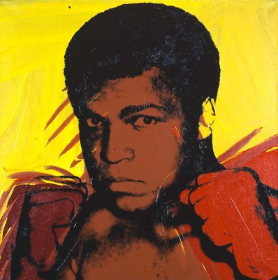 Muhammad Ali Serigraph And Screen Prints #1 by Andy Warhol - Premium Quality A3 Size Unframed Poster Paper Print
