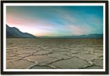 Framed Badwater Flats Landscape Nature P...