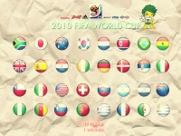 Sports Fifa World Cup South Africa 2010 Soccer HD Wall Poster Paper Print(12 inch X 18 inch, Rolled)