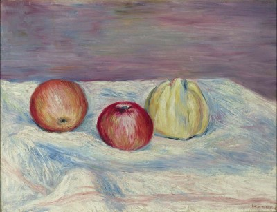 The Museum Outlet Two Apples and Quince, 1900 (Medium) Canvas Painting