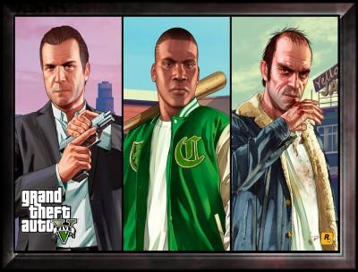 Grand Theft Auto Canvas Art