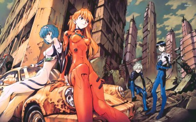 Neon Genesis Evangelion Athah Fine Quality Poster Paper Print