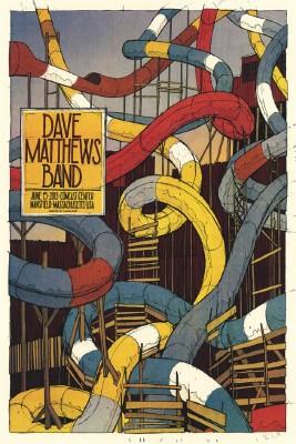 Posterhouzz Dave Matthews Band Slides Poster Paper Print