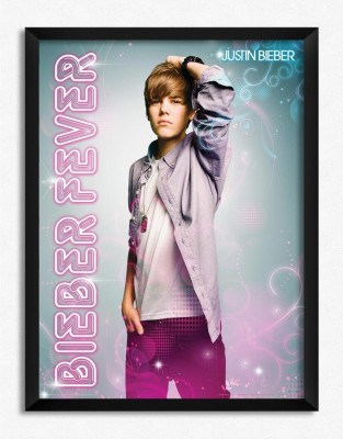 Justin Bieber Fever (Officially Licensed) Framed Paper Print