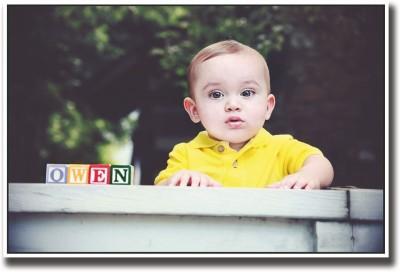 Baby owen Fine Art Print