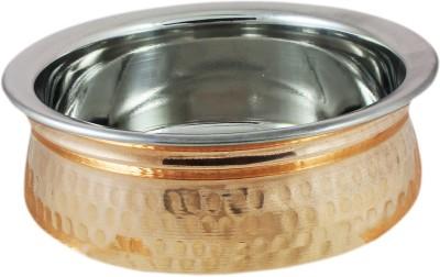 AsiaCraft Copper Mixing Bowl Serveware Inside Steel, Dia 7