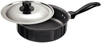 Hawkins Futura Curry Saut with Lid Pan 20 cm diameter(Aluminium, Non-stick)