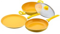 Wonderchef Da Vinci Set Kadhai, Pan, Tawa Set(Aluminium, Non-stick)