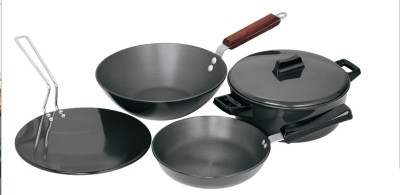 Hawkins Hard Anodised Cookware Set Tawa, Pan Set(Aluminium)