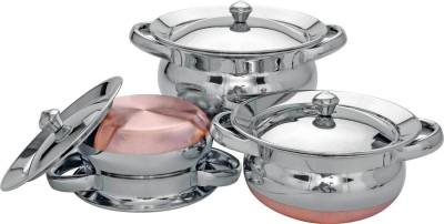 Meera Exclusive Copper Bottom Panjabi Handi Set Handi