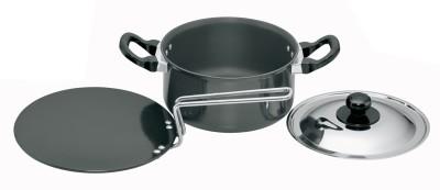 Hawkins Hard Anodised Cookware Set Pot 2.25 L(Aluminium)