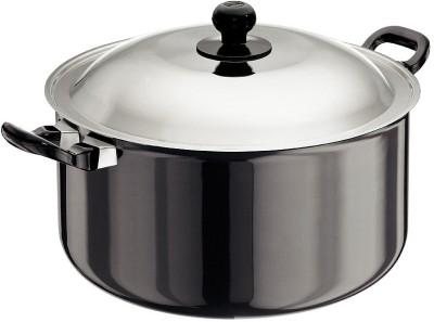 Hawkins Futura Hard Anodized Cook-n-Serve Pot 8.5 L(Aluminium)