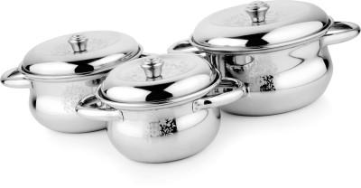 DT Gold Crazz Pattern Kitchen Pot Handi