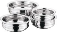 Kitchen Essentials Urli Handi 1.57 L, 2 L, 0.825 L, 1.2 L(Stainless Steel)