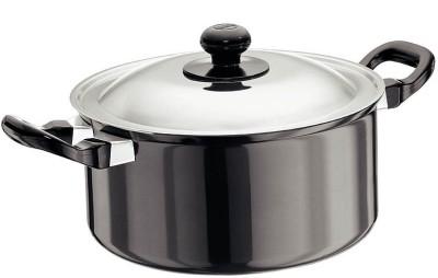 Hawkins Futura Cook-n-Serve with Lid Pot 3 L(Aluminium, Non-stick)