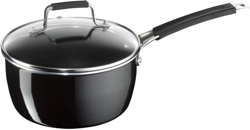 Tefal Jamie Oliver Hard Enamel 16cm Sauce Pan 15 cm diameter(Stainless Steel, Non-stick)