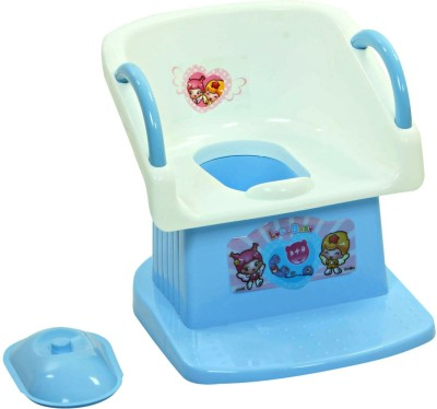 Offspring Trainer Potty Chair Potty Box(Blue, White)