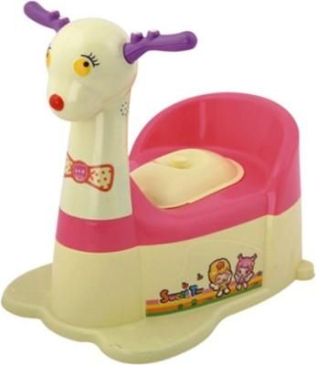 A+B Deer-Shaped Closestool Potty Box(Yellow, Pink)