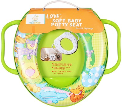 Ole Baby Jumbo the Lion With His Jungle Friends, Padded, Soft, and Durable,Full Cushion Assorted Potty Seat
