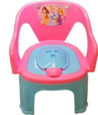 CSM 2 In 1 Pink & Blue Baby Potty Cum Chair Potty Seat(Multicolor)