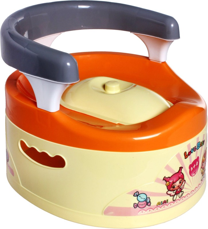 Offspring Trainer Potty Chair(Orange)