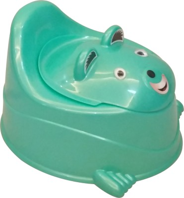 CSM 2 in 1 Baby Potty Cum Chair - Aqua Green Potty Seat