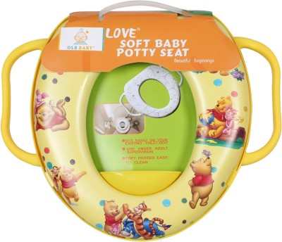 Ole Baby Winnie the pooh With Piglet,Tigger, Padded, Soft, and Durable,Full Cushion Assorted Potty Seat
